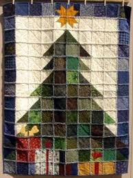 Christmas Tree Rag Quilt--easy to make and uses up a lot of scraps ... & Christmas Tree Rag Quilt--easy to make and uses up a lot of scraps Adamdwight.com