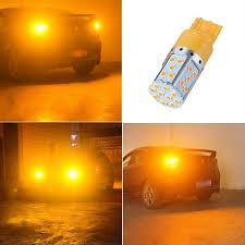 1 шт. T20 W21W 7440 35 SMD LED Желтый Янтарный ...