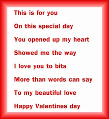 valentine s day heart poems es