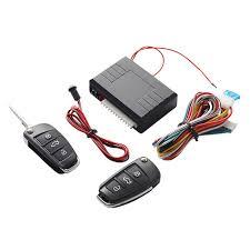 <b>Universal Car Auto</b> Keyless Entry System Button Start Stop LED ...