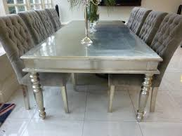 white metal furniture. Dining Tables White Table And Metals On Pinterest Elegant Metal Room Furniture