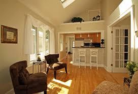 Wooden Cabinet Designs For Living Room Cool Kitchen And Living Room Combined Designs With Wooden Floor