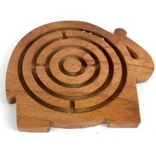 Wooden Maze Games Elephant Sheesham Wooden Maze Game ball maze game Pinterest 12