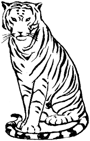 Small Picture Free Tiger Coloring Pages
