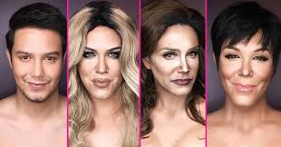 ballesteros went viral after transforming himself into a host of female celebrities including beyonce miley cyrus and taylor swift he uses makeup