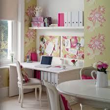 pink home office design idea. Cute Home Office Pink Design Idea