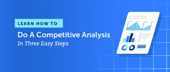 Competitive Matrix Template How To Do A Competitive Analysis In Three Easy Steps Free