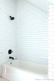 white subway tile bathroom with gray grout white subway tile grout shower floors hexagon rose doors