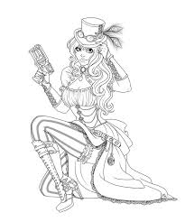 Pin Up Girl Coloring Page Google Search Sexystoere Meiden