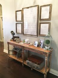 entry table decorations. Rustic Entry Table Wood Decorations S