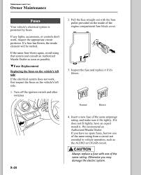 mazda 3 i am trying to change the fuse on a mazda 3 2010 Mazda 3 Interior Fuse Box Diagram Mazda 3 Interior Fuse Box Diagram #4 2006 mazda 3 interior fuse box diagram