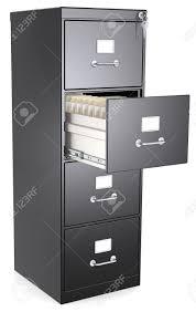 open file cabinet. Open Locked 4 Drawer File Cabinet T
