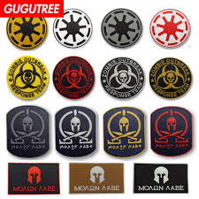 2019 <b>GUGUTREE</b> HOOk&LOOP PVC Skull Patches Military Patches ...