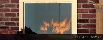 10 fireplace doors