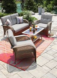 home trends outdoor furniture. Hometrends Tuscany 4-Piece Wicker Conversation Set Walmart, 476$ Home Trends Outdoor Furniture O