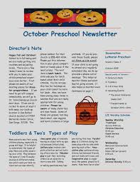 october newsletter ideas new october newsletter ideas 10 best images of templates preschool