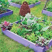 this small space vegetable garden plan