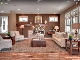 The wall colors. And how there are two colors for the one room--an ...