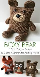 Easy Crochet Teddy Bear Pattern Unique Decorating Ideas