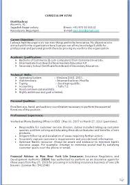 Resume Formats For Experienced Experienced Hr Resume Format Template ...