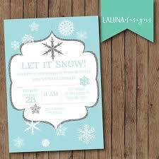 Snowflake Birthday Invitations Winter Birthday Invitation Snowflake Invitation Snowflake