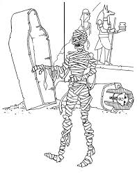 Small Picture Egyptian Mummification Printables Coloring Coloring Pages