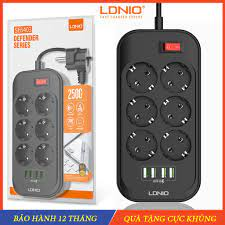 Ổ cắm điện đa năng, Ổ điện cổng USB cho điện thoại, máy tính bảng - Ổ cắm  an toàn cho tivi ,tủ lạnh, máy giặt, laptop tại Hà Nội