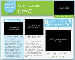 Newsletter Template Design Software Egolfjobs Com