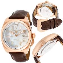 rose gold men s and women s watches 65 99 for swiss legend men s heritage watch brown sl 20434 rg 02mop brw 895 list price