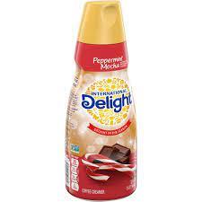 I drink it all year long. International Delight Peppermint Mocha Coffee Creamer Hy Vee Aisles Online Grocery Shopping