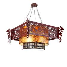 chinese chandelier style wooden pendant lights hotel restaurant china lighting classical wind dragon send blessing pendant lamp in pendant lights from
