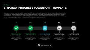 Powerpoint Slide Design Free Download 2007 Strategy Progress Report Powerpoint Template Keynote Diagram