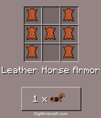 minecraft fence post recipe. Craft Leather Horse Armor In Minecraft PE 0.15.0 (and More Crafting Recipes) Fence Post Recipe
