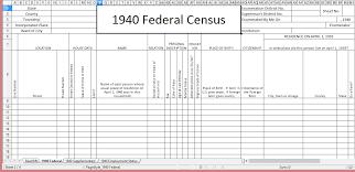 Genealogy Spreadsheet Template Genealogy Spreadsheet Template Spreadsheet Templates How To