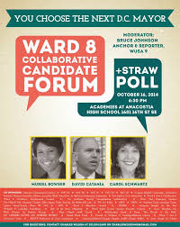 flyers forum the art of ward 8 mayoral attorney general candidate forum