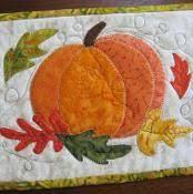 354 best Quilts - pumpkin images on Pinterest | Crafts, Doll and ... & Autumn Pumpkin Mug Rug. TablerunnersPotholdersPlacematMug Rug  PatternsQuilting ... Adamdwight.com