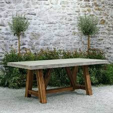 round concrete outdoor table medium size of top dining lovable tables on i21