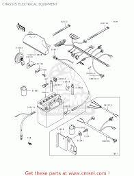 kawasaki klf400 b2 bayou4004x4 1994 australia chassis electrical Automotive Wiring Diagrams at 1994 Klf400b Wiring Diagram