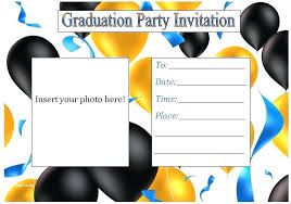 Free Graduation Announcement Maker Graduation Templates Design With