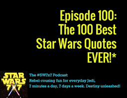 Famous Starwars Quotes