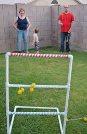 diy ladder toss fun outdoor game perfect for all ages