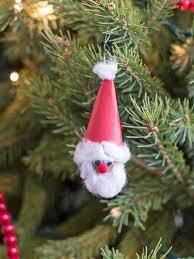 Christmas Kids Crafts Christmas Kids Craft Walnut Santa Ornament Hgtv