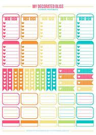 Planner Printables For Students 15 Free Planner Printables Blitsy