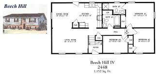 ranch style floor plans. Raised Ranch Style Floor Plan - East Coast Homes Plans