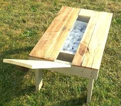 outdoor coffee table with storage diy patio coffee table outdoor coffee table ideas re purposed pallet