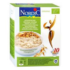 <b>Хлопья Nordic</b> (<b>Нордик</b>) овсяные органические, 600 гр. — купить в ...