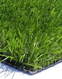 fake grass. Evergreen Artificial Grass Close Up Fake