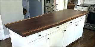 live edge walnut island finish counter tops islands wood countertop best