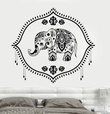 details about vinyl wall decal india baby elephant nursery hinduism hindu stickers 723ig