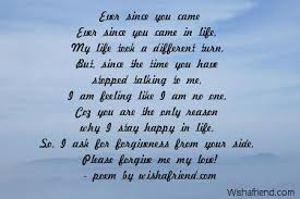Sorry Poems For Him Cool I M Sorry Love